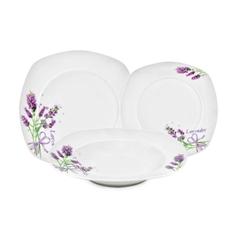 Serwis Obiadowy 18 El 2 Wzory Kwadratowy Ceramika Hurtownia Sukces