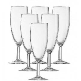 Kpl. 6 kieliszków do szampana Opti